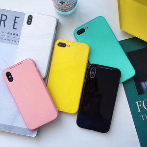 Low Price 360 Full Cover Magnetic Attraction Candy Color Piano Paint PC Phone Case For IPhoneX XS MAX XR 6 6S 7 8 Plus All-inclusive Case — mvpfhtteae