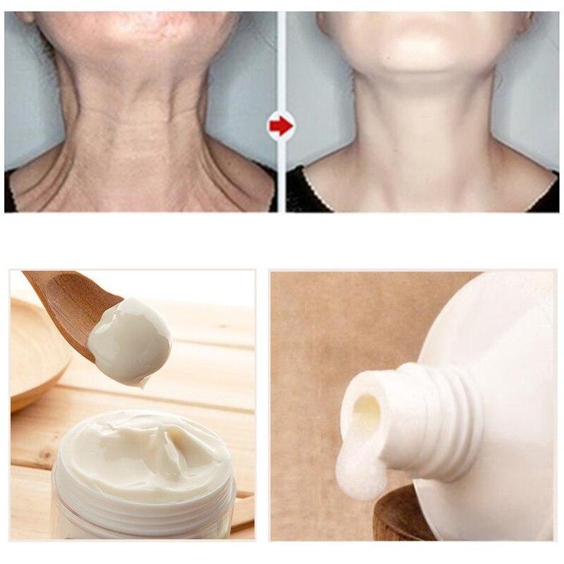 Cuello máscara cuello crema de cuidado de la piel Anti arrugas blanqueamiento hidratante nutritivo reafirmante cuello cuidado de la piel cuidado de