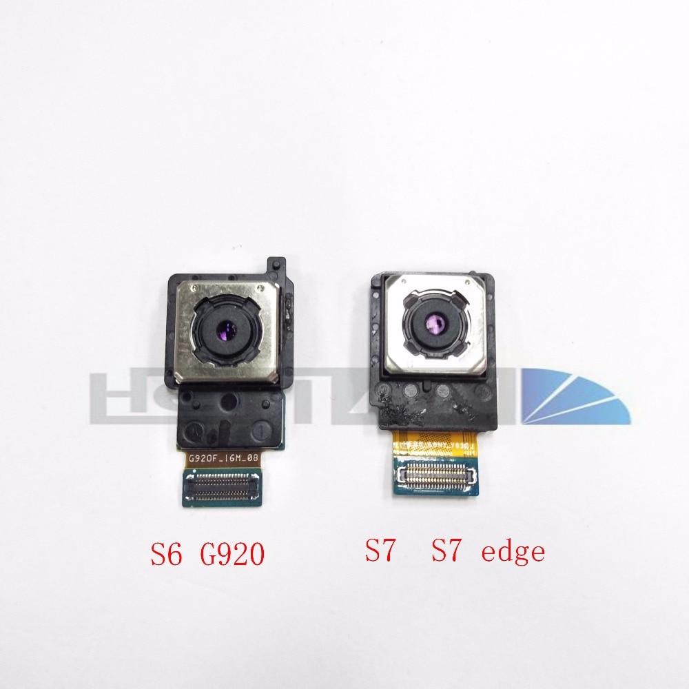 Original Big Camera For Samsung Galaxy S6 G920 S7 G930F G930V S7 edge G935F G935V Rear Back Camera Module Flex Cable Replacement