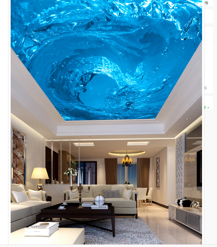 Us 13 44 58 Off Customized Wallpaper For Walls Watermark Beautiful Ceiling Mural Design 3d Ceiling Murals Wallpaper Home Decoration In Wallpapers