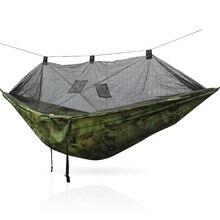 Portable Nylon Hammock Swing Hanging Hamock Camping Swing