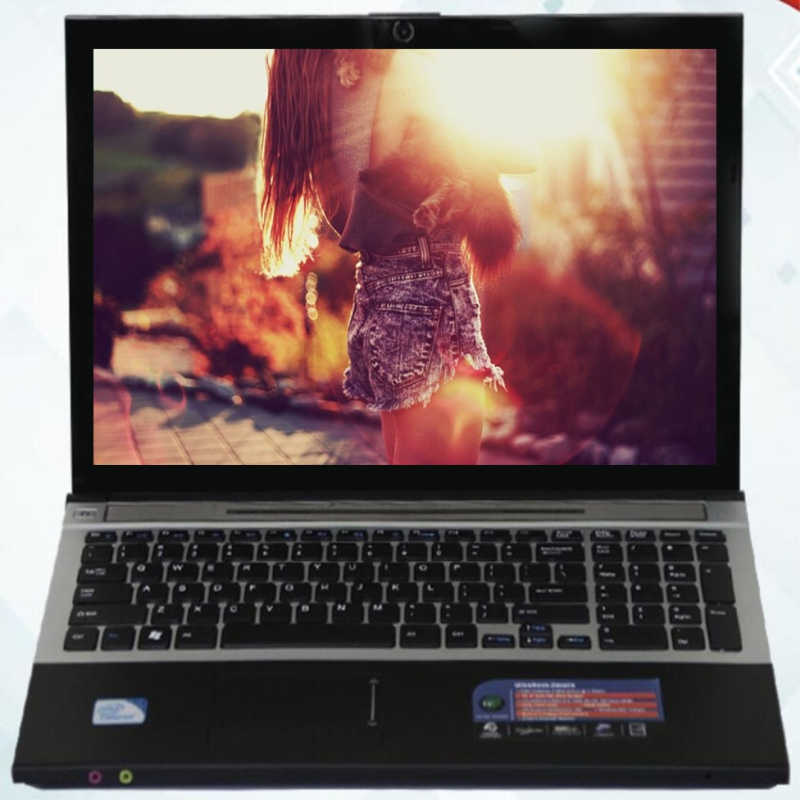 """Intel Core i7 CPU Laptop 15 """"LED 1920X1080P DVD-RW Bluetooth Windows 7 Máy Tính Xách Tay 8GB RAM + SSD 240GB 4000mAh Battary"""