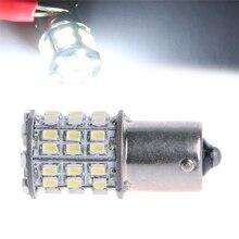 цена на Super Bright 1156 BA15S P21W 3014 54-SMD LED White Car Tail Backup Light Bulb
