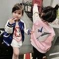Jaqueta meninas do bebê para meninas jaqueta e casaco de bebê meninas hoodies nova marca crianças inverno jaqueta de algodão outerwear