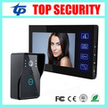 Good quality 7 inch color video door phone system IR night version 700TVL touch keypad video door bell door intercom system