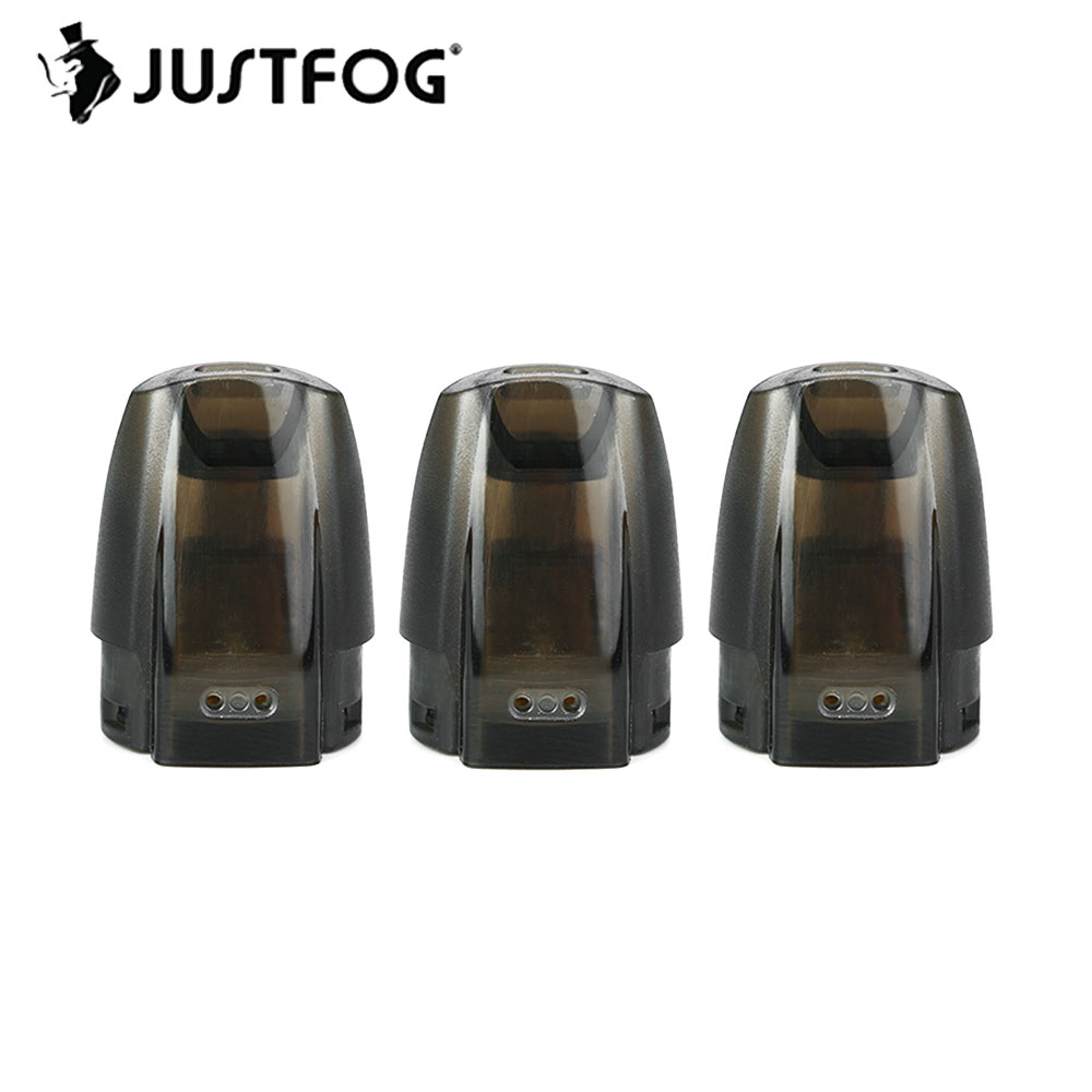 Original JUSTFOG MINIFIT Pod 1.5ml Capacity MINIFIT Cartridge with 1.6ohm Coil for JUSTFOG MINIFIT Kit Tank Cartridge Spare PartOriginal JUSTFOG MINIFIT Pod 1.5ml Capacity MINIFIT Cartridge with 1.6ohm Coil for JUSTFOG MINIFIT Kit Tank Cartridge Spare Part