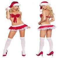 64cd14db8adf 2015 High Quality Sexy Red Bikini Set For Christmas Day Women Red Christmas  Bikini With Hats