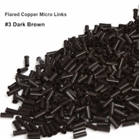 1000 Pieces 1 Bottle 3 0 2 6 6 0mm Flare Euro Lock Copper Tubes Micro