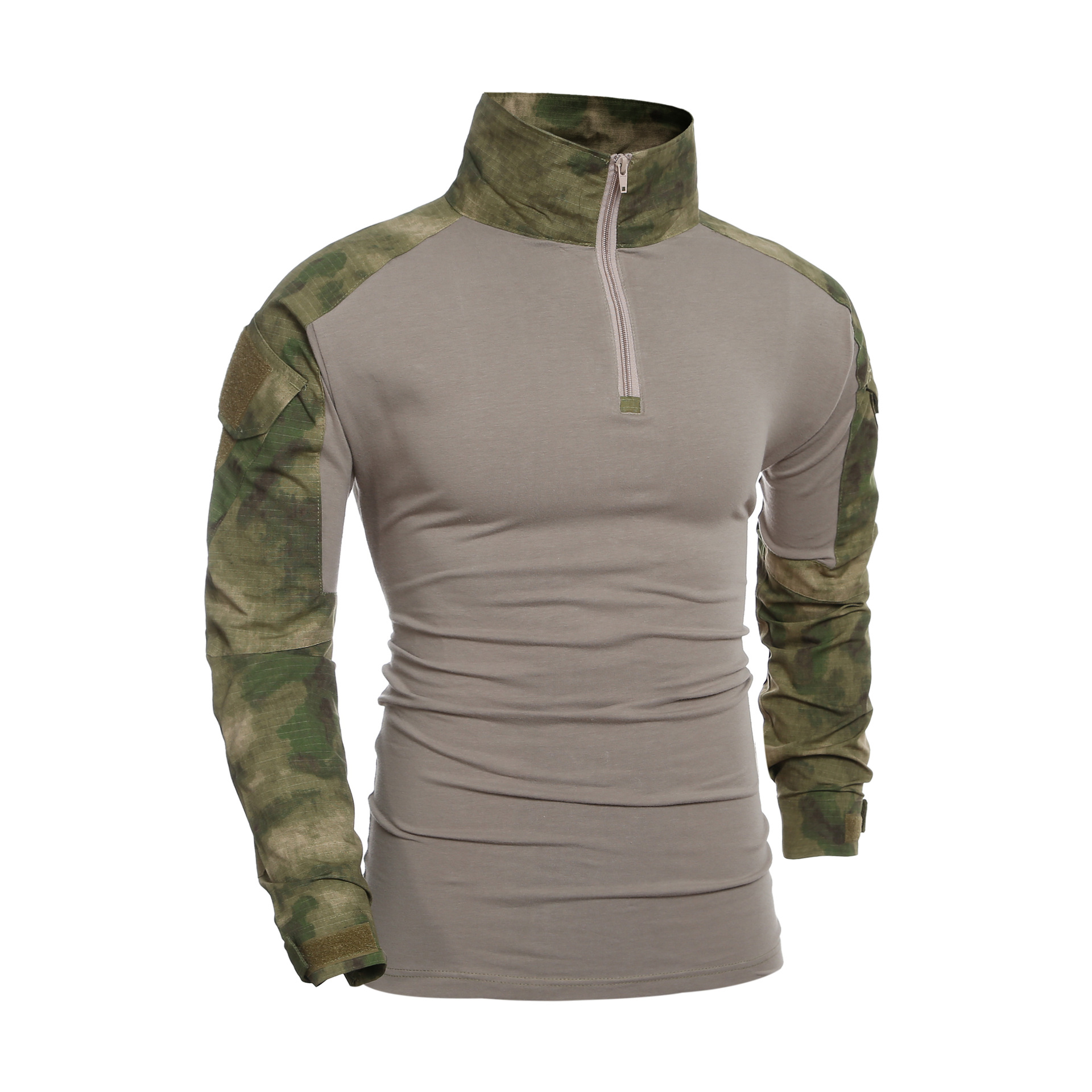 Men's Tactical T-shirts Special Forces Army Military Camouflage Long Sleeve Tee Shirts Combat Compress Quick Drying Clothes