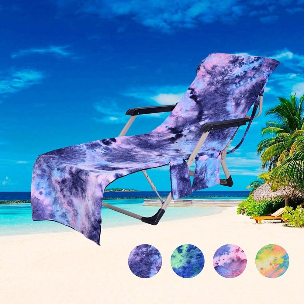 Colorida da Cadeira da Natação com o Bolso Suporte do Telefone Lidar com Toalhas 207*74cm do Bolsa do Curso Toalha Microsoft Beach 3 Pad