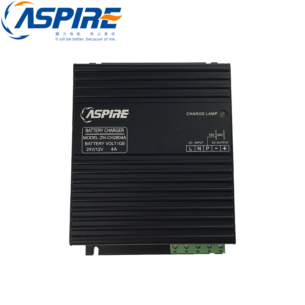 12V 24V Aspire Dynamo Diesel Generator Automatic Battery Charger ZH-CH28 4A free shipping diesel generator intelligent battery charger 12v 24v changable zh ch28 10a