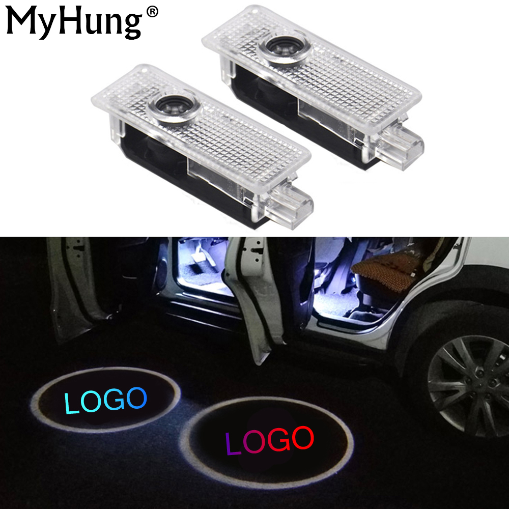 2XCar Door Logo Projector Welcome Light Laser Ghost Shadow Lamp For BMW 5series E39 E53 x5 Z8 E52 M Performance Car Accessories 2 x wireless led car door logo projector welcome ghost shadow light for suzuki swift sx4 s cross jimmy alto celerio grand vitara
