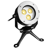 High Quality 100 IP68 316 Stainless Steel 9W Color Change LED Underwater Spot Light