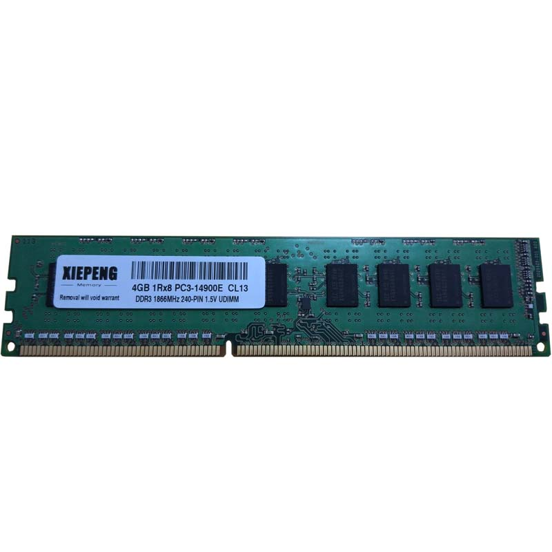 Samsung 8GB 2RX8 PC3-14900E DDR3-1866Mhz 240pin ECC Unbuffered Server Memory RAM