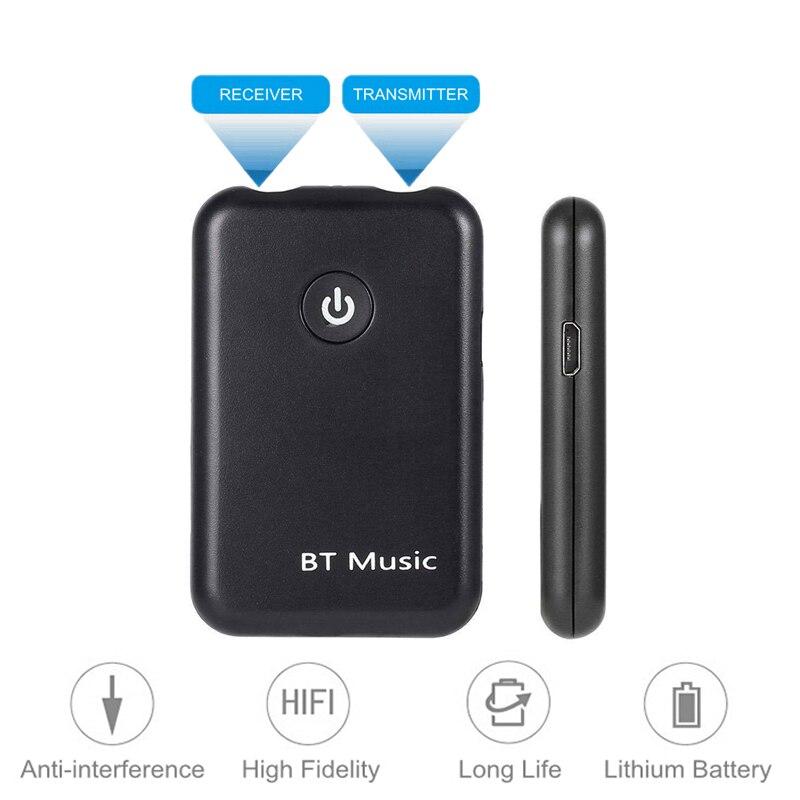 CSR 4.2 Wireless Bluetooth Transmitter Receiver 2in1 Dongle 3.5mm Aux Stereo Hi-Fi Apt-x APTX HD Bluetooth V4.2 Audio Adapter стоимость