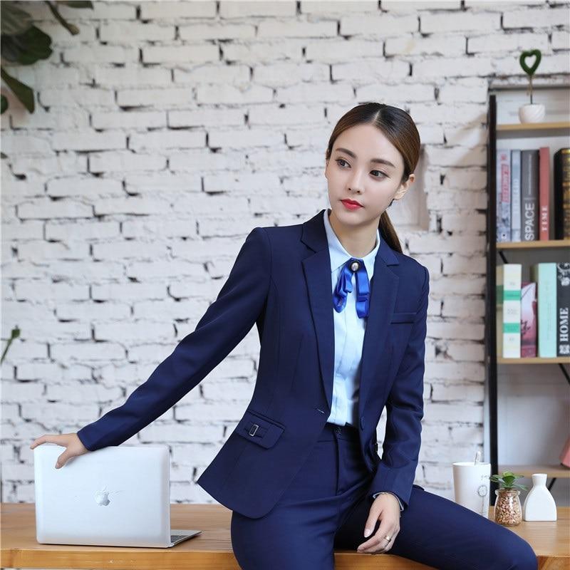 Formal Slim Blazers Autumn Winter Long Sleeve Women Jackets Coat For Ladies Office Work Wear Outwear Female Tops Plus Size 4XL