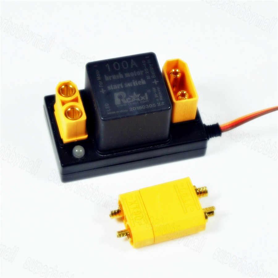 Rcexl 100A Kuas Motor Mulai Elektronik Sakelar Relay V1.0 untuk DLE EME 35 55