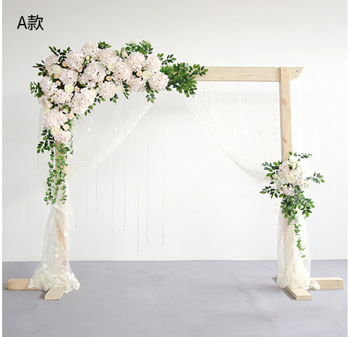 White with green grass Wedding Flower Wall roses with hydrangea Artifical Silk Flower Backdrop Wedding Decoration