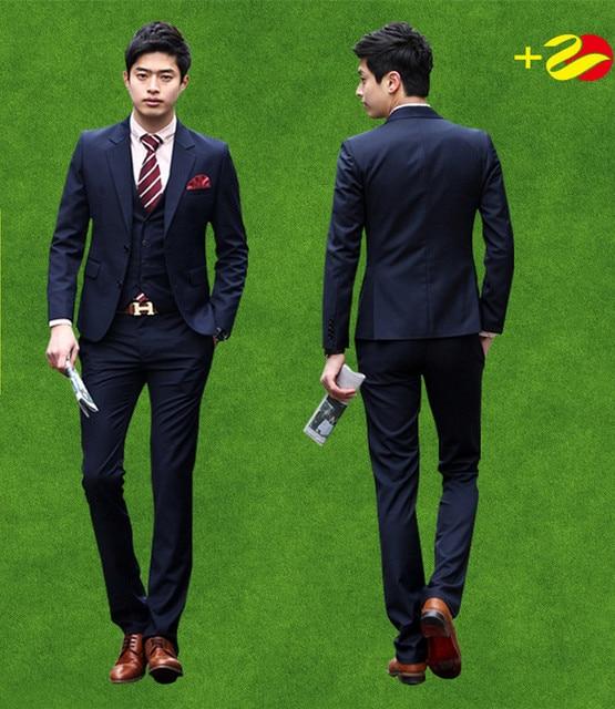 Aliexpress.com : Buy Mens 3pcs tailor suit jacket with pants vest ...