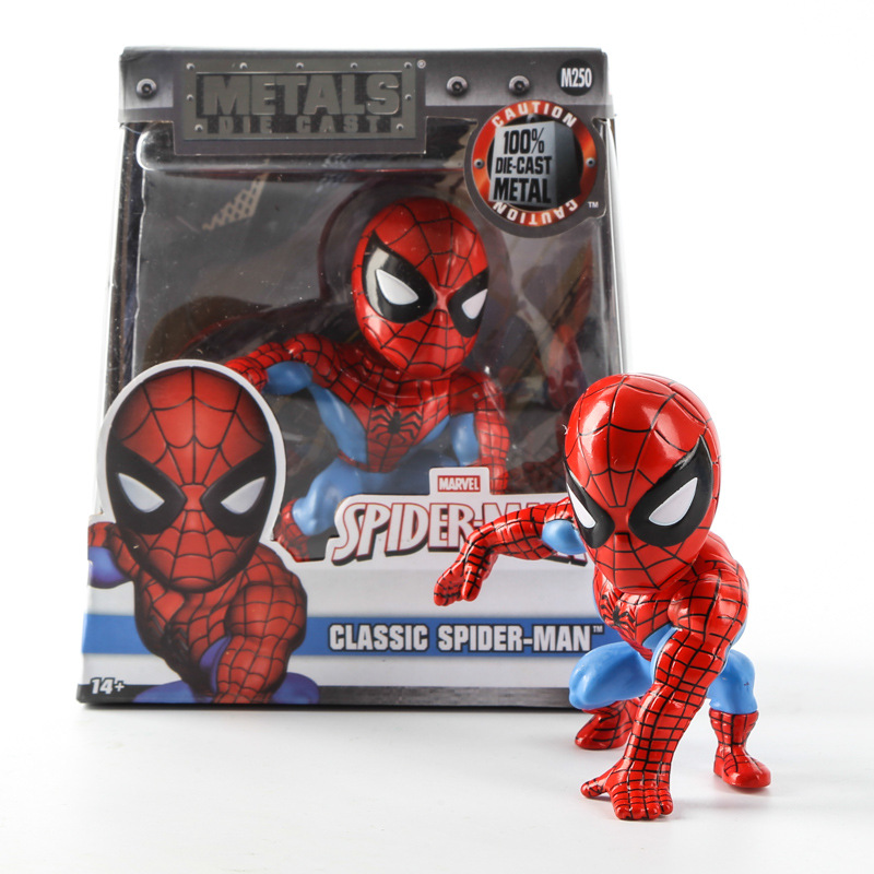 Cartoon Childrens Favourite Awesome The Avengers Spiderman Toys Brinquedo PVC Action Figure Kids Toys Spiderman