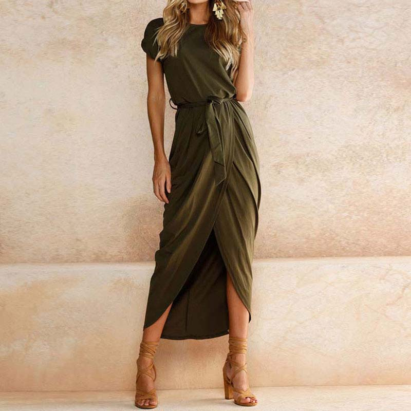 19 Plus Size Party Dresses Women Summer Long Maxi Dress Casual Slim Elegant Dress Bodycon Female Beach Dresses For Women 3xl 9