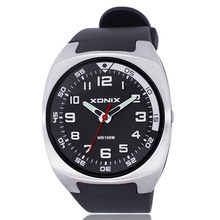 XONIX top marque de luxe mens montres, chiffres arabes Exacte quartz montre hommes, 100 M étanche relogio masculino montre homme
