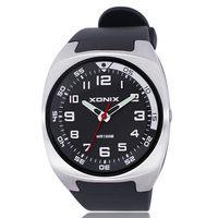 XONIX Top Brand Luxury Mens Watches Arabic Numbers Exact Quartz Watch Men 100M Waterproof Relogio Masculino