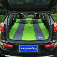 Automatic Inflatable Big Size SUV Car Inflatable Bed Outdoor Travel Car Air Mattress Bed Auto Supplies