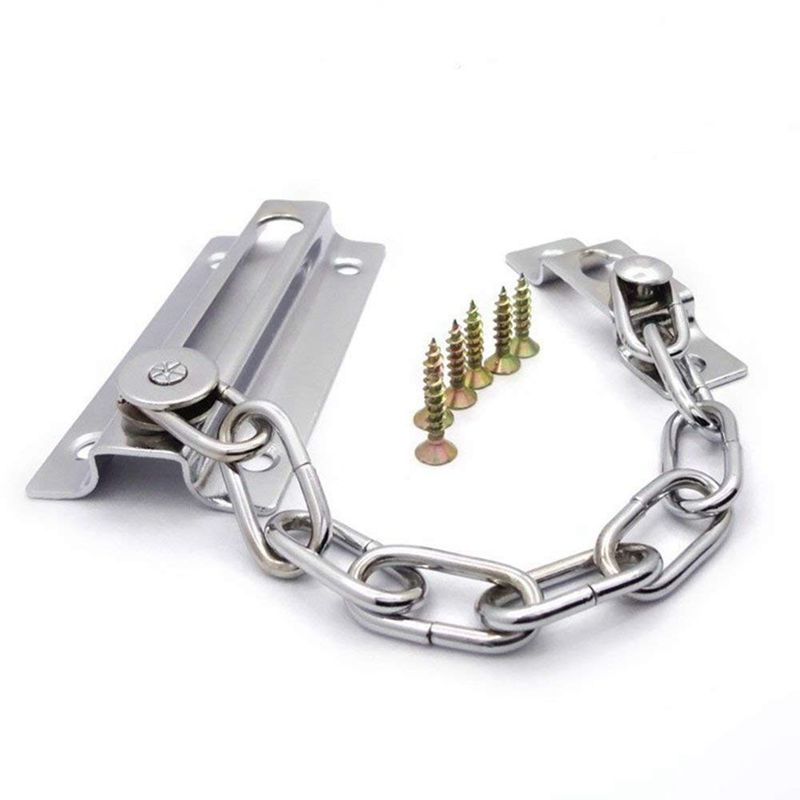 NEW High Quality Silver Chain For Door Security