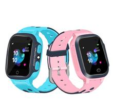 New Kids Smart Watch 1.44-inch Touch Screen Telephone SOS Waterproof Positioning Super-long Standby