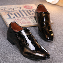 New Elegant Famous Oxford Leather Men's Shoes