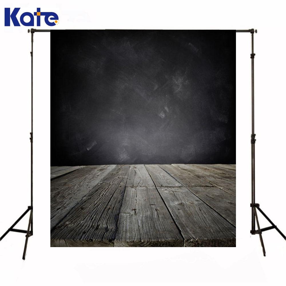 Kate Background Photography Newborn Baby Dark Gray Wall Fond Studio Photo  Wood Texture Floor Backdrop For Photo Studio  недорого