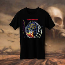 King Kobra Thrill Of a Lifetime hard rock band Black T-shirt Tee S M L XL 659f95b56d7a