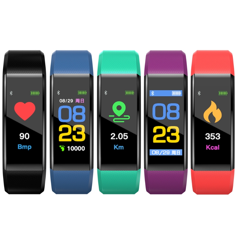Smart Watch Bracelet For IOS Waterproof Sports Band Pedometer Monitors Bluetooth Accessories Gai