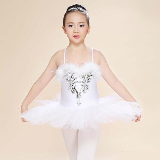5074352e4 White Children's Swan Lake Costume Kids Ballet Dance Costume Stage  Professional Ballet Tutu Dress For Girl-in Ballet from Novelty & Special  Use on ...