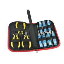 10 in1 Screwdriver Hexagon Socket Slotted Diagonal Cutter Ball Link Plier Tools Kit Box Set for RC Quadcopter Helicopter Car
