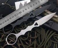 D2 handle karambit ABS sheath D2 steel blade Tactical EDC Tool outdoor camping survival exploration pocket knife
