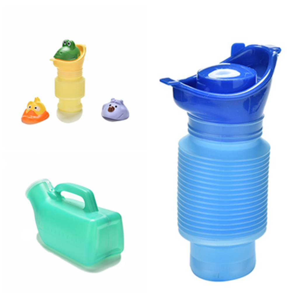 400/750/1000/1700ml Portable Adult Urinal Outdoor Camping Travel Urine Car Urination Pee Soft Toilet Urine Help Men Women Toilet