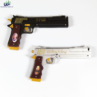 Dante Ebony and Ivory Cosplay Double Gun Pistol Cosplay Weapon Props For Comic Party Halloween