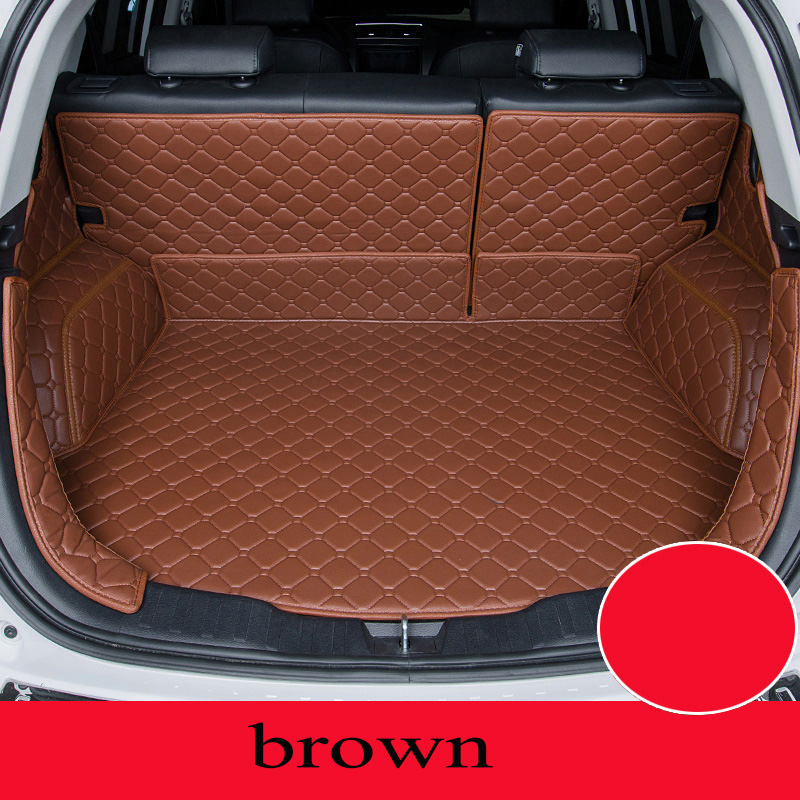 Custom car mat trunk for Hyundai All Models tucson ix25 santa i30 ix35 veracruz car styling car accessories custom cargo liner custom fit car trunk mat for hyundai ix25 ix35 elantra santafe solaris tucson verna veloster car styling tray carpet cargo liner