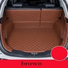 Personalizado tapete do carro tronco para Hyundai Todos Os Modelos tucson ix25 santa i30 ix35 veracruz carro styling acessórios do carro de carga personalizado forro