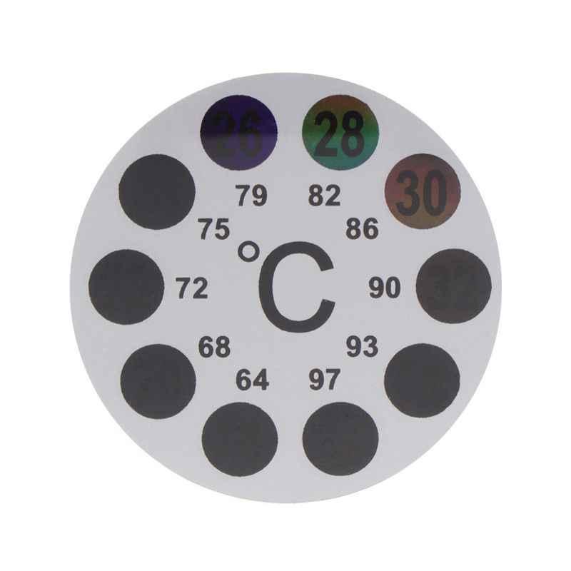 Аквариумный термометр наклейка 18 до 36 температура цифровой весы этикетка