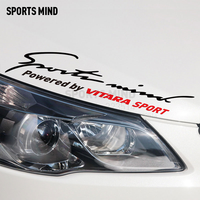 Sports Mind Car Covers Car Stickers Decal Car Styling For Suzuki vitara 2017 exterior accessories