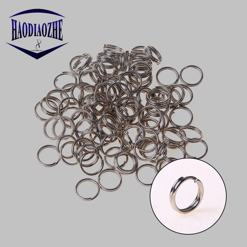 size #4!! Free shipping also !!! Lot of 1000 stainless steel split rings