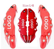 On sale ZUCZUG 4pcs Universal Car Auto Disc Brake Caliper Covers Front And Rear RD 24cm + 28cm