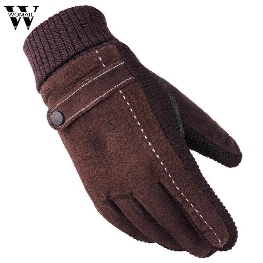 Winter Gloves Men Th