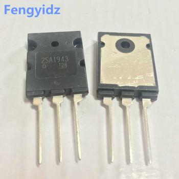 2SA1943 5 sztuk + 2SC5200 5 sztuk tranzystor mocy duży chip TO-264 = 10 sztuk 1943 5200 darmowa dostawa tanie i dobre opinie Fengyidz Nowy Triody tranzystor Bezpo¶rednio hole 2SA1943 2SC5200
