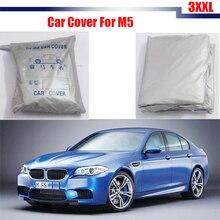 Cawanerl Крышка Автомобиля Anti UV Дождь Снег Устойчив Солнцезащитный Козырек Крышка Автомобиля Крышка Пыле Для BMW M5