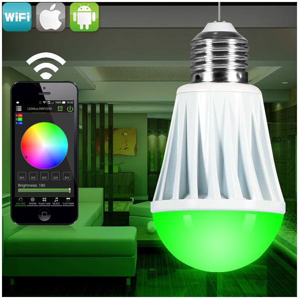 Aliexpress.com : Buy wifi dimmer led bulbs,WiFi LED light Bulb ...:Aliexpress.com : Buy wifi dimmer led bulbs,WiFi LED light Bulb from  Reliable light bulbs retail suppliers on Zengge Factory,Lighting