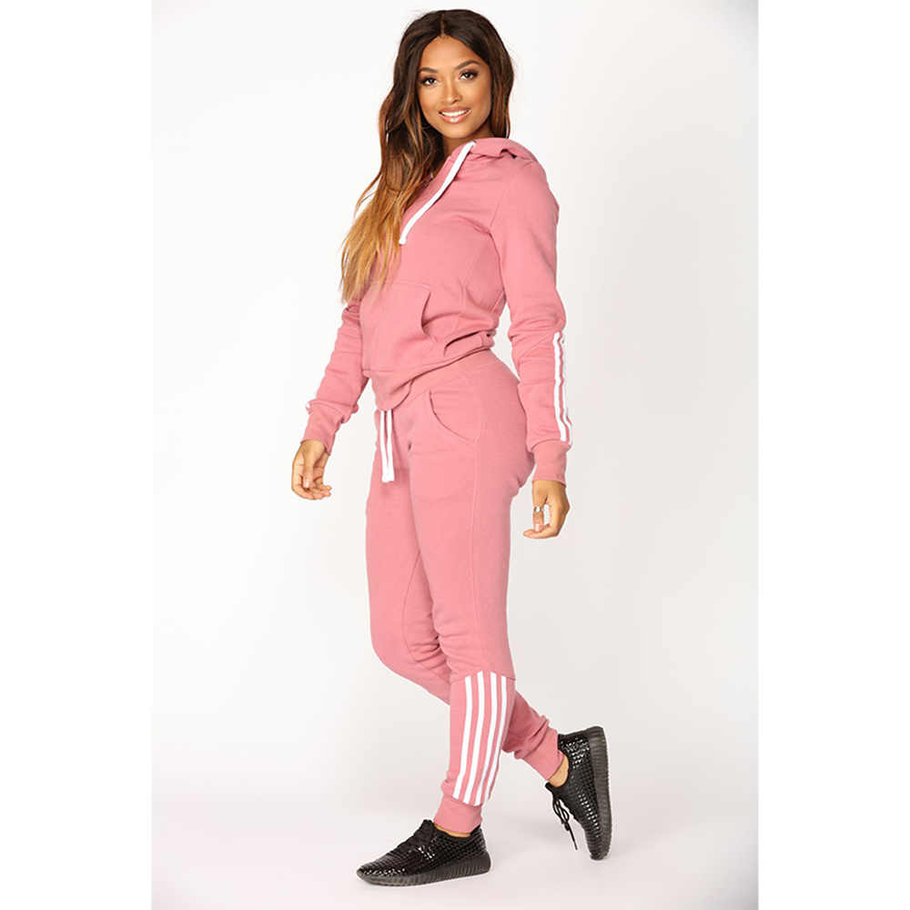 ZOGAA/Новинка 2019, топ со штанами, комплект из 2 предметов, женский спортивный костюм, укороченные толстовки, толстовка, штаны, комплекты, одежда для отдыха, повседневный костюм на молнии